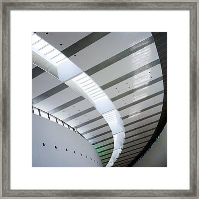 Pavilion Framed Print by Dave Bowman