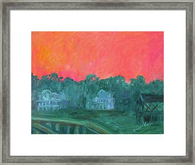 Pawleys Eve Stage One Framed Print by Kendall Kessler