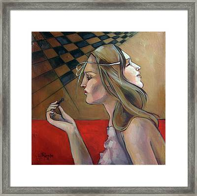 Pawn Framed Print by Jacque Hudson