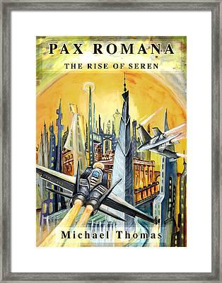 Pax Romana Framed Print by Miki De Goodaboom