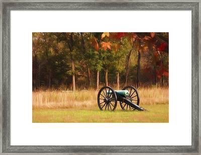 Pea Ridge Framed Print by Lana Trussell