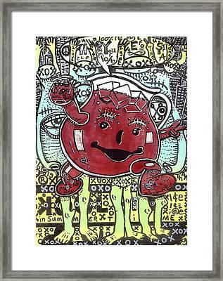 Peace Aid Framed Print by Robert Wolverton Jr