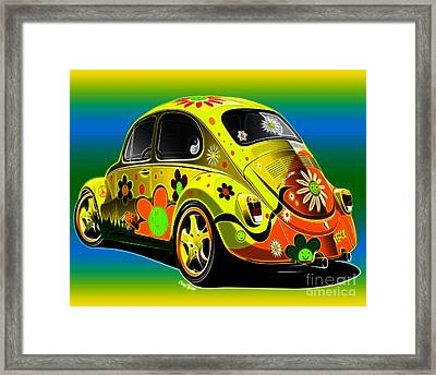 Peace Framed Print by Cheryl Young