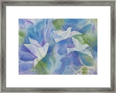 Peace Framed Print by Deborah Ronglien