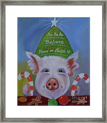 Peace On Earth Framed Print by To-Tam Gerwe