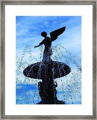Peace Two Framed Print by Todd Sherlock