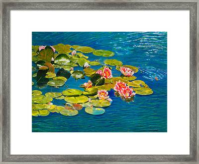 Peaceful Belonging Framed Print by Michael Durst