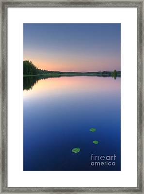 Peaceful Evening Framed Print by Veikko Suikkanen