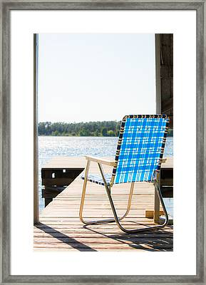 Peaceful Light Framed Print by Shelby  Young