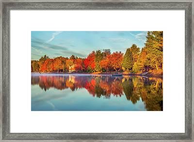 Peaceful Morning Framed Print by Mark Papke