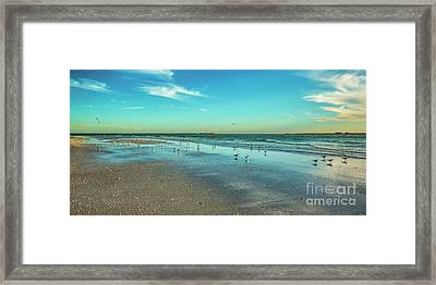 Peaceful Rest Framed Print by Felix Lai
