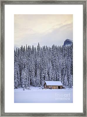 Peaceful Widerness Framed Print by Evelina Kremsdorf