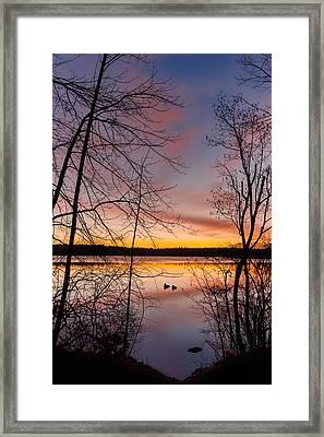 Peaceful Easy Feeling Framed Print by Bill Wakeley