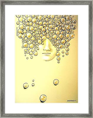 Pearls Of Wisdom Framed Print by Paulo Zerbato