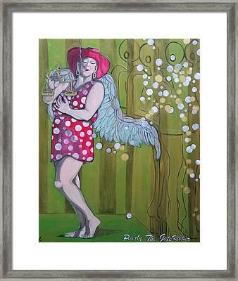 Pearly Framed Print by Darlene Graeser