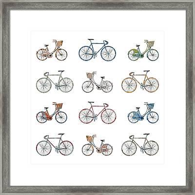 Pedal Power Framed Print by Sarah Hough
