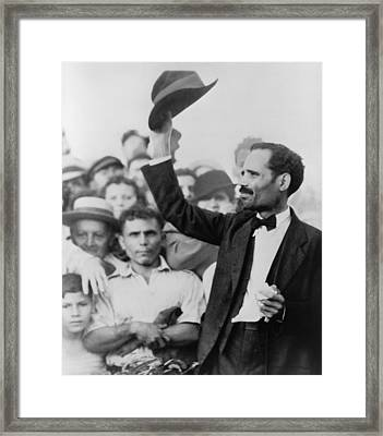 Pedro Albizu Campos 1893-1965, Puerto Framed Print by Everett