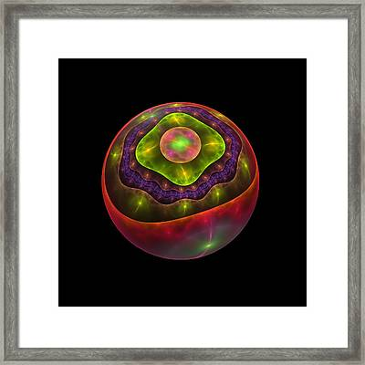 Peel Back The Layers Framed Print by Lyle Hatch