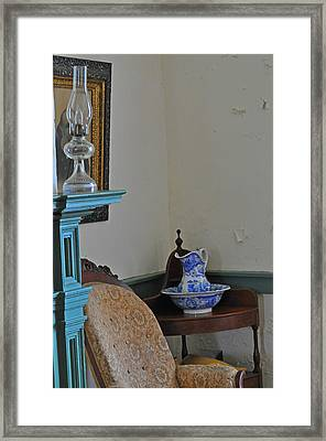 Peeling Paint Framed Print by Peter  McIntosh