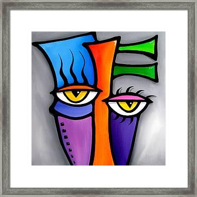 Peepers Framed Print by Tom Fedro - Fidostudio