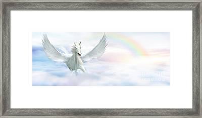 Pegasus Framed Print by John Edwards