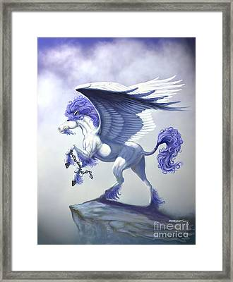 Pegasus Unchained Framed Print by Stanley Morrison