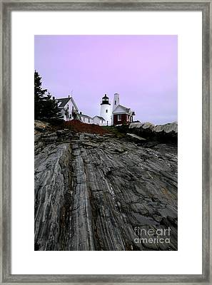 Pemaquid Light Framed Print by Timothy Johnson