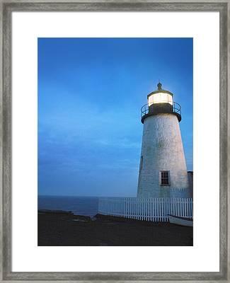 Pemaquid Lighthouse, Bristol, Me Framed Print by Gillham Studios