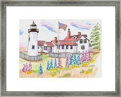 Pemaquid Lighthouse Framed Print by Paul Meinerth