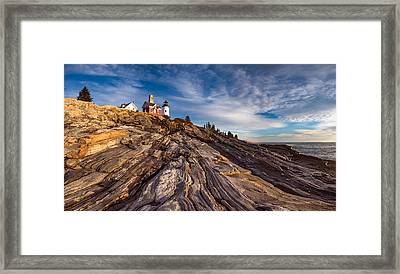Pemaquid Point  Framed Print by Darren White