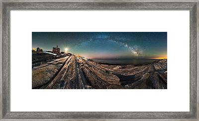 Pemaquid Point Lighthouse Framed Print by Matthew Milone