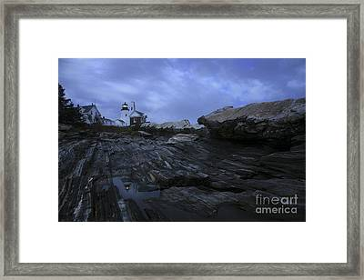 Pemaquid Reflection Framed Print by Timothy Johnson