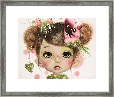Penelope  Framed Print by Sheena Pike