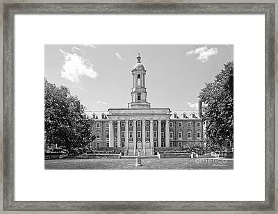 Penn State Old Main  Framed Print by University Icons