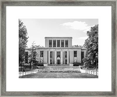 Penn State University Pattee Paterno Library Framed Print by University Icons