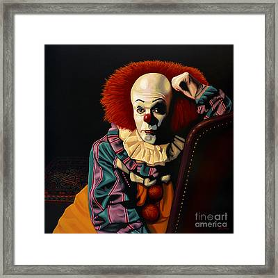 Pennywise Framed Print by Paul Meijering