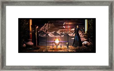 Penquin Magic Framed Print by Bob Orsillo