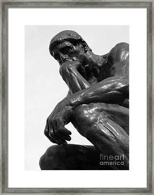 Pensive Framed Print by Ann Horn
