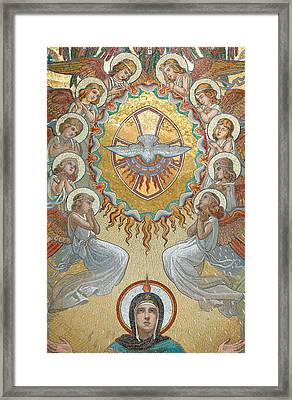 Pentecost Framed Print by Unknown