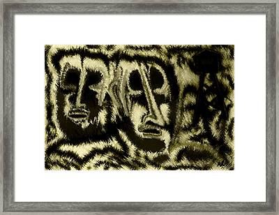 People Framed Print by Rafi Talby