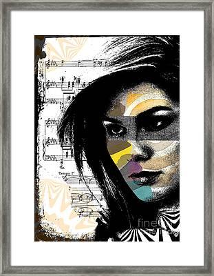 Perceptions Framed Print by Ramneek Narang