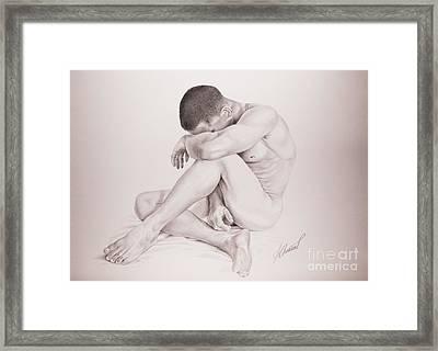 Perdida Framed Print by Alex Chinea Pena