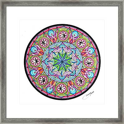 Perfect Balance Framed Print by Marcia Lupo