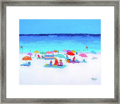 Perfect Day Framed Print by Jan Matson