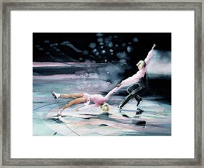 Perfect Harmony Framed Print by Hanne Lore Koehler