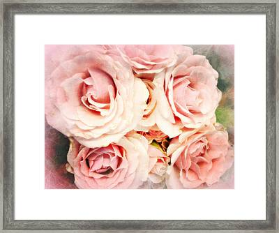 Perfect In Pink Framed Print by Kathy Bucari