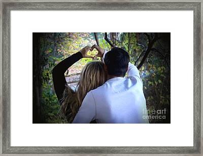 Perfect Love Framed Print by Krissy Katsimbras