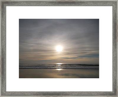 Perfection In Reflection Framed Print by Patricia Lyons