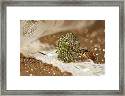 Peridot Framed Print by Gary Yost