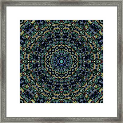 Persian Carpet Framed Print by Joy McKenzie